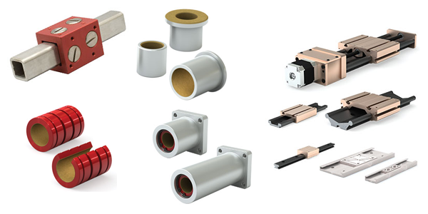 PBC Linear Plain Bearings