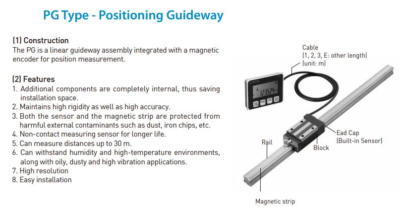 Hiwin PG Series Measurement Guideway